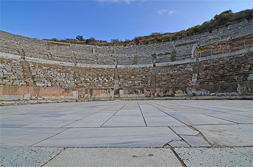 Ancient Roman grand theather